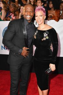 Terry Crews (L) and Rebecca King-Crews _preview