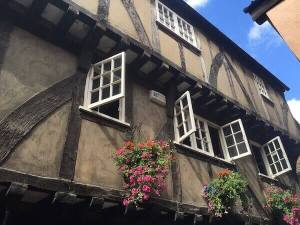 Visiting York is like stepping back to the Middle Ages