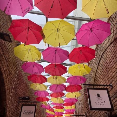 Colourful Camden Market, London