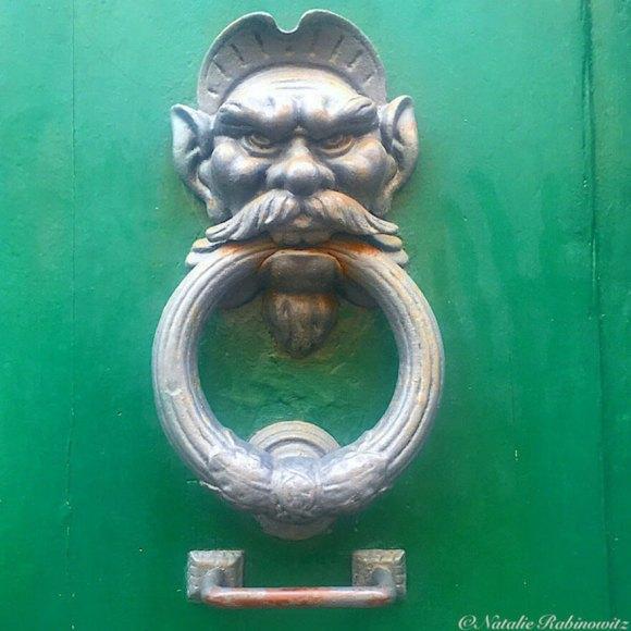 Door Knocker. Pisa
