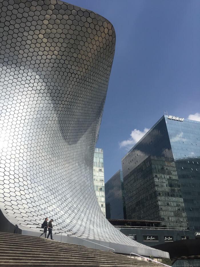 Soumaya. Mexico City a cosmopolitan city