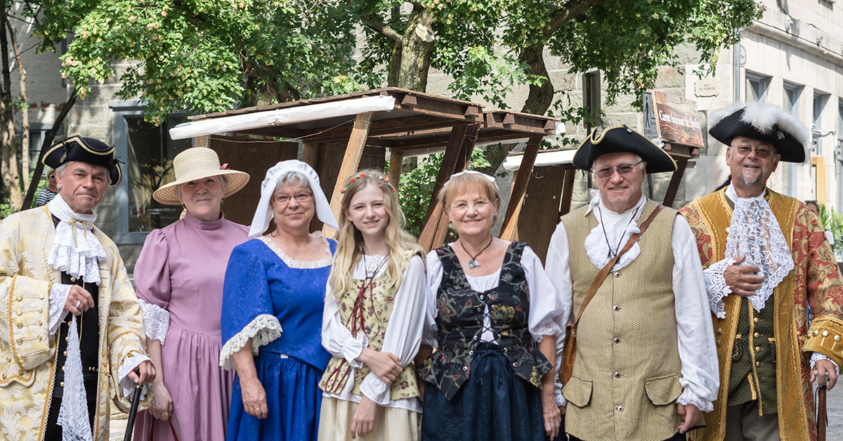 New France Festival in Old Quebec City