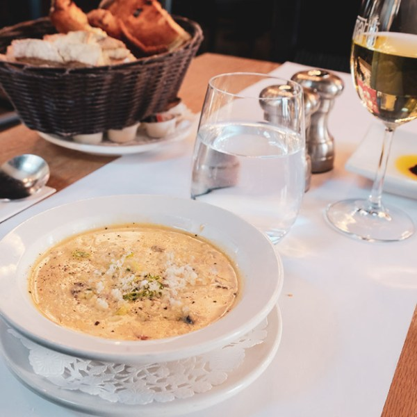 Dining at Matto 71 in Vieux-Port Quebec