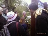 Apr 2014 Walthamstow marshes walk with Joan Yeadon