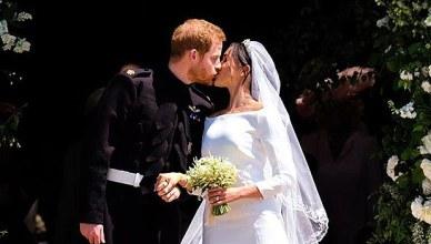 Prince Harry and Meghan Markle were married on Saturday, May 19, 2018. (Credit: Instagram/@kensingtonroyal)