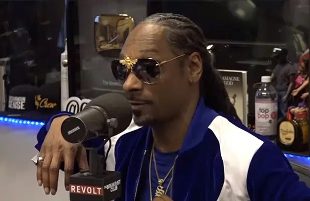 Snoop Dogg appeared on The Breakfast Club on Friday, May 18, 2018. (Credit: YouTube)