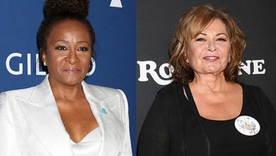 Wanda Sykes and Roseanne Barr (Credit: Deposit Photos)