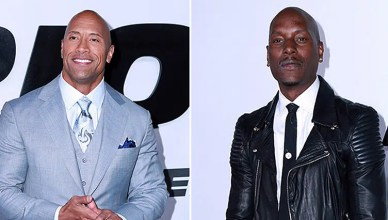 Dwayne Johnson and Tyrese Gibson (Deposit Photos)