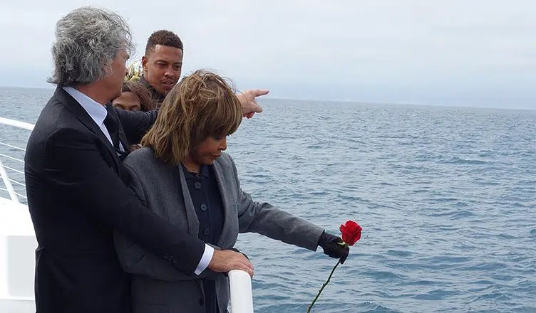 Tina Turner Says Goodbye to son Craig Turner. (Credit: Twitter)