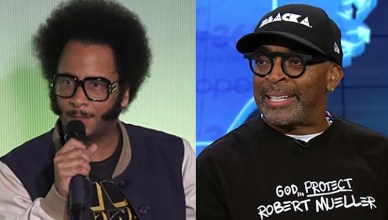 Boots Riley and Spike Lee (Credit: YouTube)
