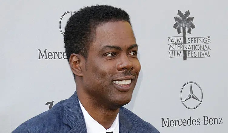 Chris Rock arrives at the Palm Springs International Film Festival (Credit: Deposit Photos)
