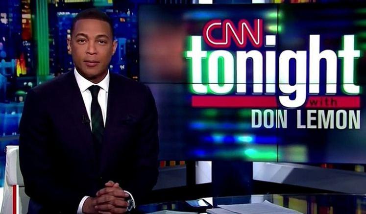 Don Lemon on CNN. (Credit: CNN)