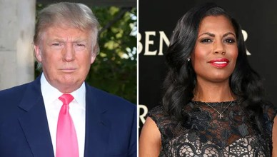 Donald Trump and Omarosa (Credit: Deposit Photos)