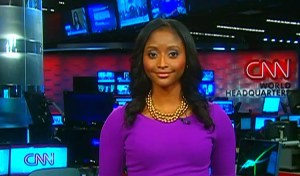 Sesay worked for CNN for 13 years (Credit: CNN)