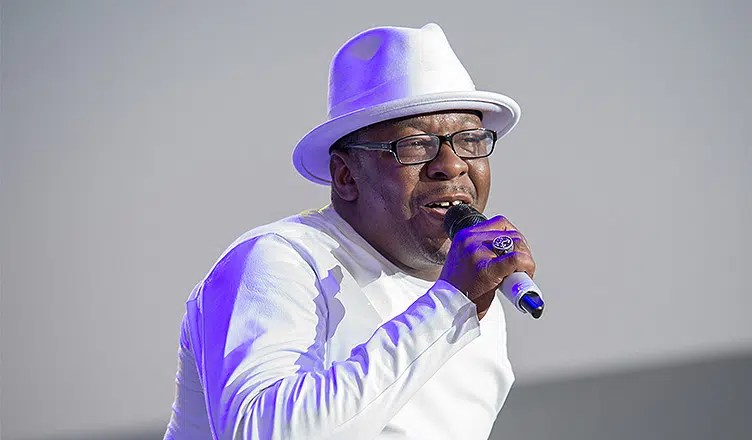 Bobby Brown of New Edition performs at Thunder Valley Casino Resort in Lincoln, California on August 1, 2014. (Credit: Shutterstock)