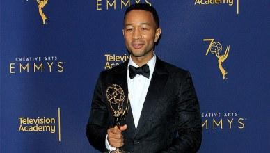 John Legend won an Emmy Award on Sunday, Sept. 9, 2018. (Credit: Deposit Photos)