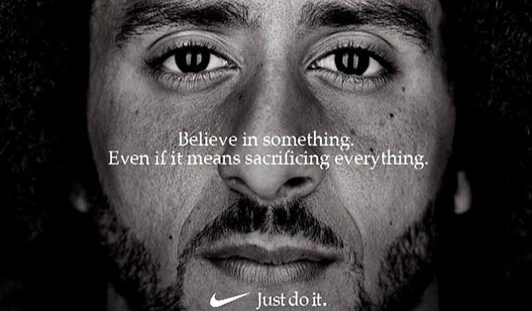 Kaepernick Nike Ad (Credit: Nike)