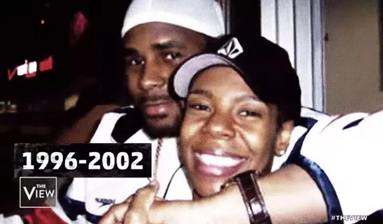 R. Kelly and Andrea Kelly. (Credit: ABC)