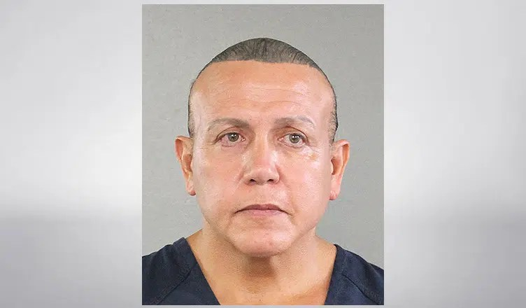 Cesar Sayoc Booking Photo (Credit: Broward County Sheriff's Office)