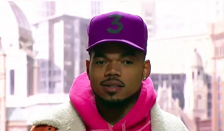 Chance the Rapper speaks at Chicago City Hall on Oct. 16. (Credit: CBS Chicago/YouTube)