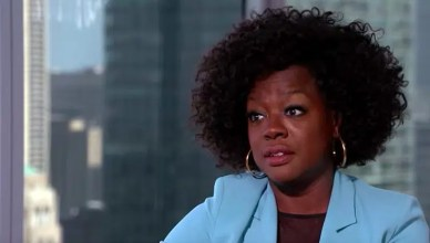 Viola Davis talks to Extra TV about her new movie. (Credit: Extra TV/YouTube)