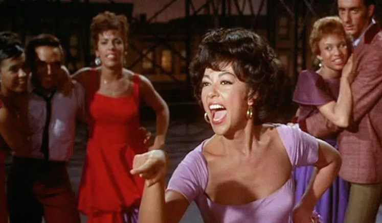 "Rita Moreno played Anita in the 1961 film ""West Side Story"""