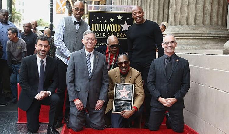 Snoop Dogg Walk of Fame (Credit: YouTube)