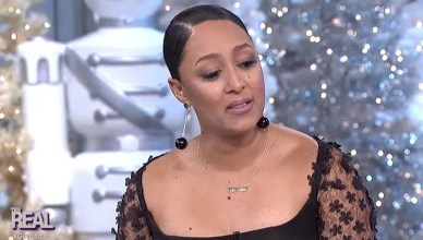 Tamera Mowry Housley (Credit: The Real)