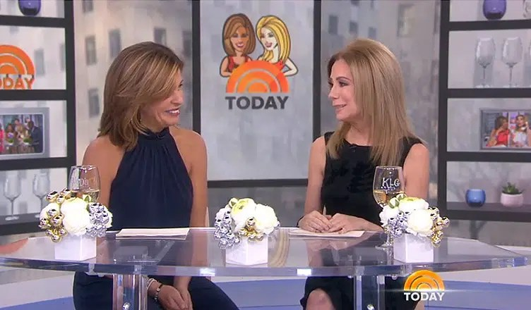 Kathie Lee Gifford Today Exit (Credit: NBC)