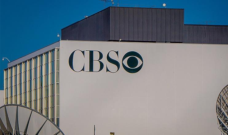 os Angeles, California, USA, AUGUST, 20, 2018: CBS logo on a building in Los Angeles, California. (Credit: Deposit Photos)