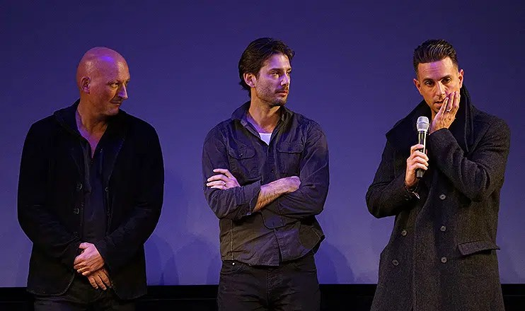 Reed, Safechuck and Robson received a standing ovation. (Credit: Matthew Carey)