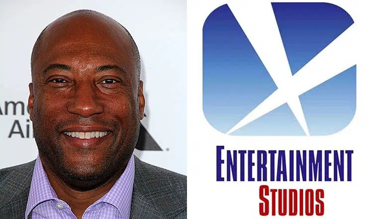Byron Allen and Entertainment Studios Logo (Credit: Deposit Photos and Handout)