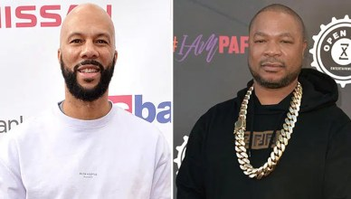 Common and Xzibit attend the 27th Pan African Film & Arts Festival in Los Angeles on Feb. 18, 2019. (Credit: Credit Koi Sojer/SnapNU Photos)
