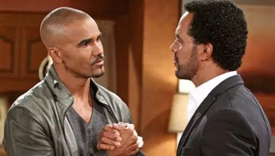 Shemar Moore and Kristoff St. John (Credit: Instagram)