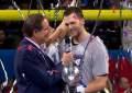 Super Bowl LIII Tom Brady Interview. (Credit: YouTube/NFL)