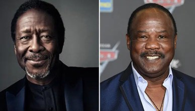 Clarke Peters and Isiah Whitlock Jr. (Credit: Twitter/Shutterstock)