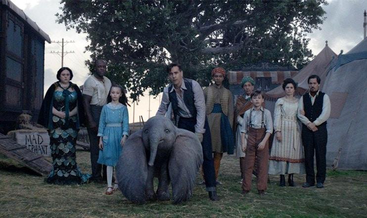 Dumbo Cast (Credit: Disney)