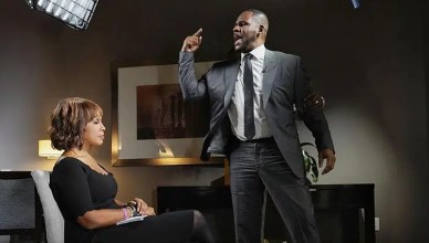 Gayle King Interviews R. Kelly (Credit: CBS)