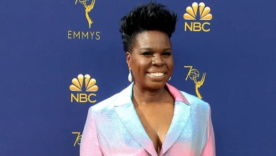 LOS ANGELES - SEP 17: Leslie Jones at the 2018 Emmy Awards Arrivals at the Microsoft Theater on September 17, 2018 in Los Angeles, CA. (Credit: Deposit Photos)