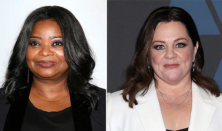 Octavia Spencer and Melissa McCarthy (Credit: Deposit Photos)