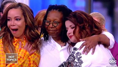 Whoopi Goldberg Returns to The View on Thursday, March 14, 2019 after a long illness. (Credit: YouTube/The View)