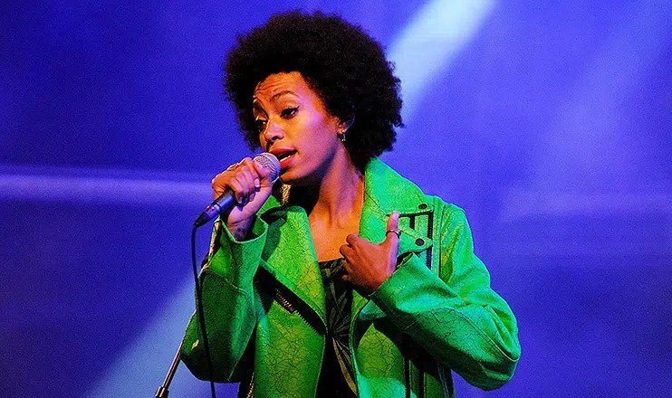 Solange Knowles performs at Heineken Primavera Sound 2013 Festival on May 24, 2013 in Barcelona, Spain. She is the little sister of the star Beyonce Knowles. (Credit: Shutterstock)