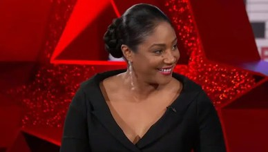 Tiffany Haddish on Jimmy Kimmel Live (Credit: ABC)