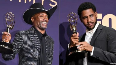 Billy Porter and Jharrel Jerome won Emmy Awards on Sept. 22, 2019. (Credit: Shutterstock)