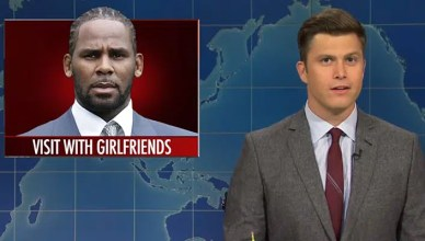 'SNL' R. Kelly Segment. (Credit: NBC)