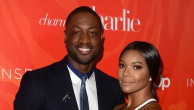 Dwyane Wade, Gabrielle Union at the Step Up Inspiration Awards, Beverly Hilton, Beverly Hills, CA 05-20-16 — Photo by s_bukley
