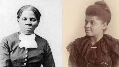 Harriet Tubman and Ida B Wells