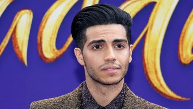 Actor Mena Massoud at the Los Angeles premiere of 'Aladdin' held at the El Capitan Theatre in Hollywood, USA on May 21, 2019. – Stock Editorial Photography