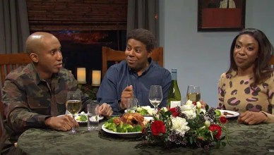 Saturday Night Live Christmas Dinner Sketch (Credit: NBC)