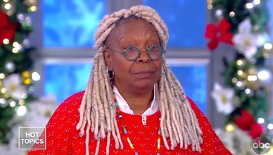 Whoopi Golberg on The View Tuesday (Credit: ABC)
